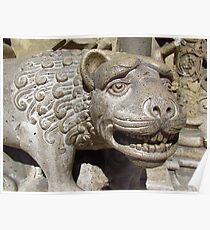 Vajdahunyad Lion Poster