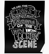 "5 Seconds Of Summer ""She's Kinda Hot"" Lyric Drawing Poster"