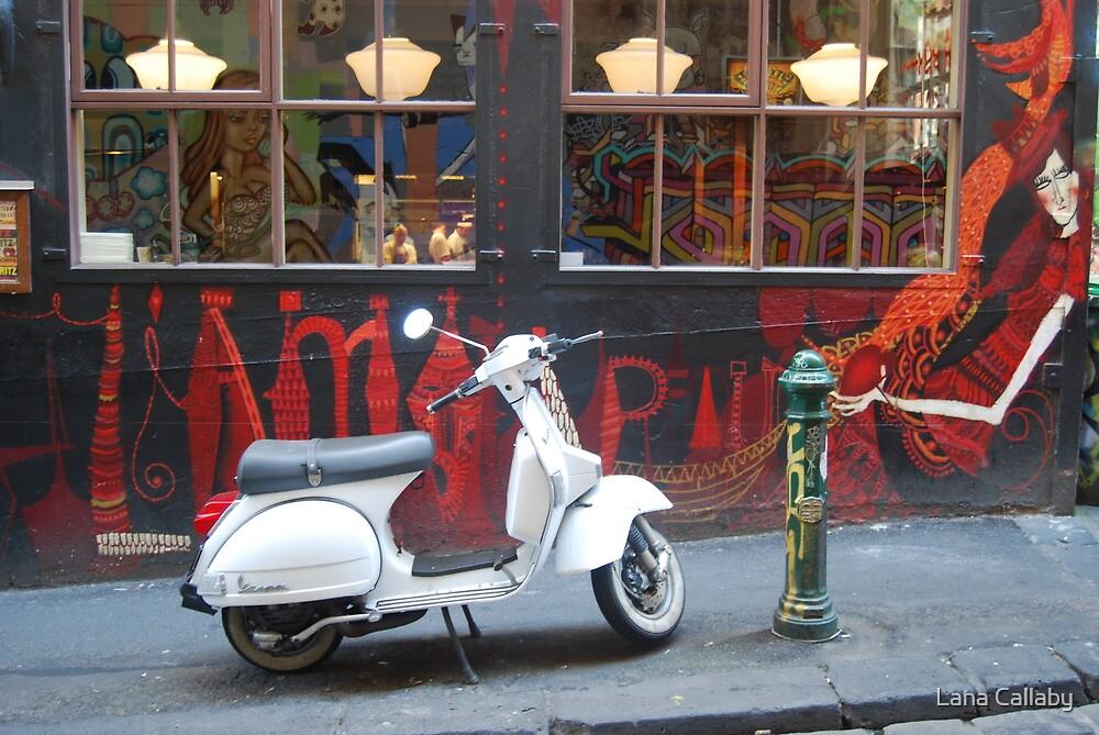 'Movida' Hosier Lane, Melbourne by Lana Callaby