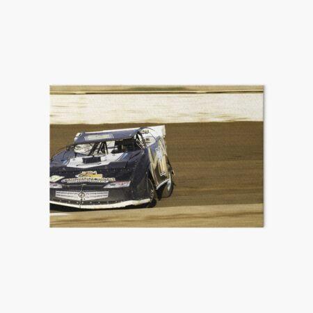 Speedway - sideways action Art Board Print