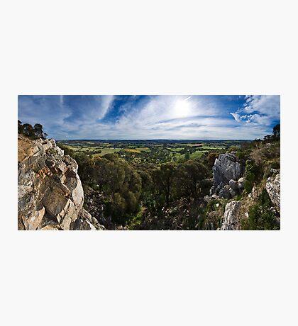 Mount Barker Summit Photographic Print