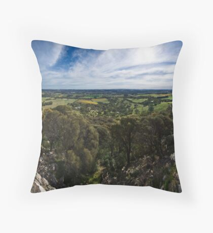 Mount Barker Summit Throw Pillow