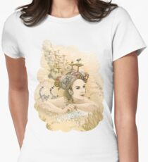 Animal princess Womens Fitted T-Shirt