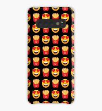 Love Pommes frites Emoji JoyPixels Funny French Fries Case/Skin for Samsung Galaxy