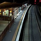 Wodonga Railway Station. by John Vandeven