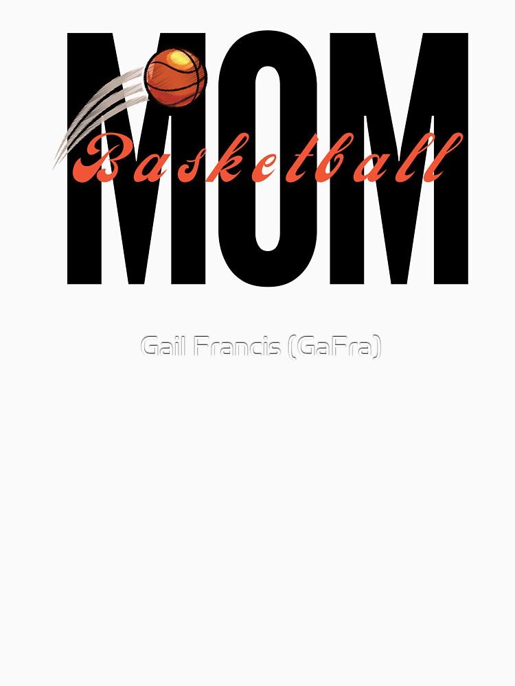 Basketball Mom, sports mom by TriniArtStudio