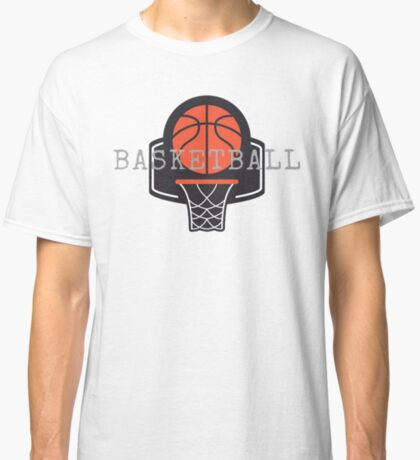 Basketball, Basketball Hoop, Basket Ball Classic T-Shirt