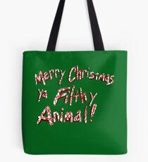 Merry Christmas ya Filthy Animal! Tote Bag