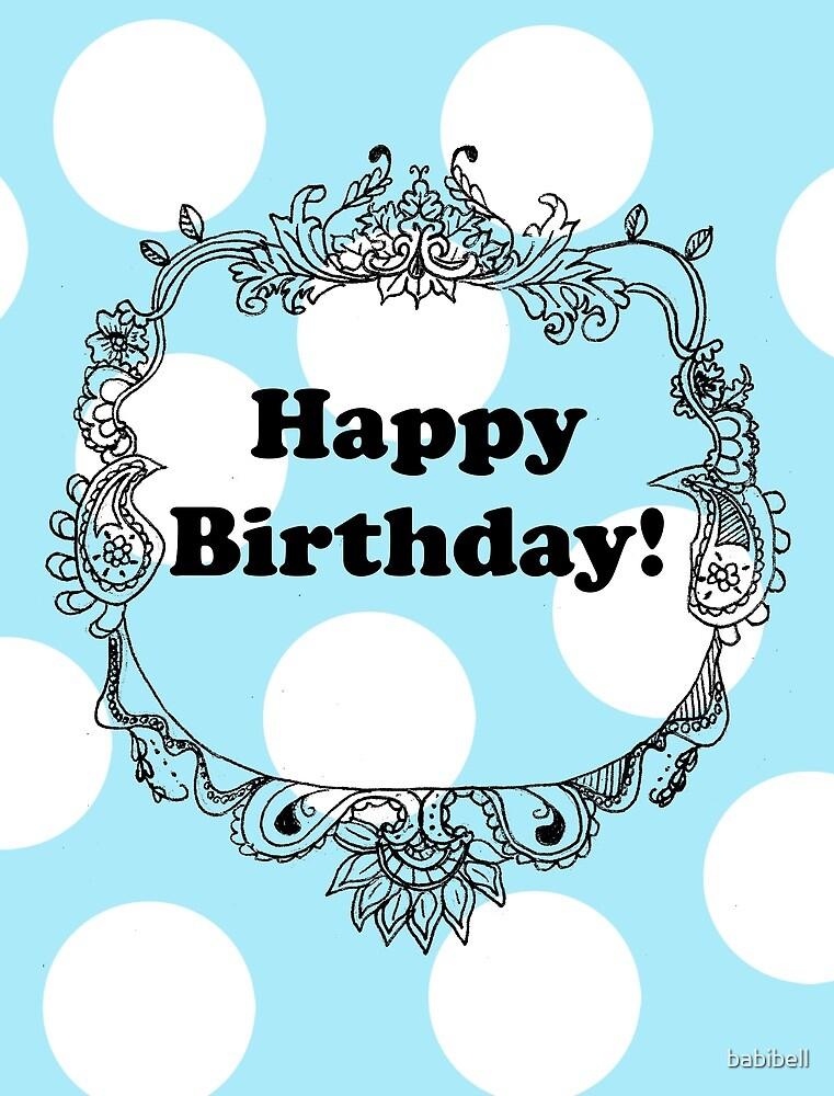 Happy Birthday! by babibell