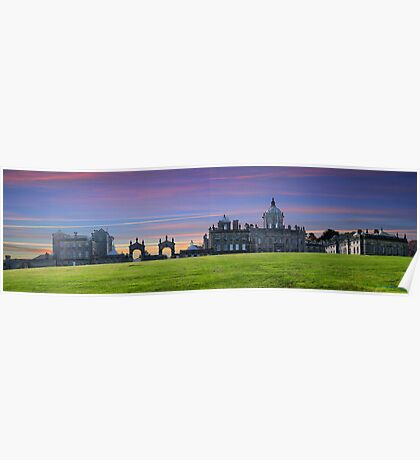 Castle Howard ~ Panorama,  HDR ~ Poster