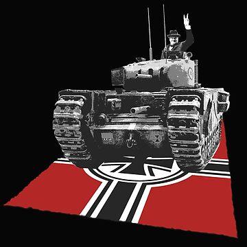 Chuchill tank Winston Churchill by Sevetheapeman