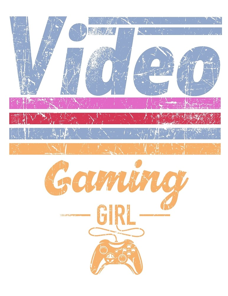 Video Gaming Girl by mejiadesigns