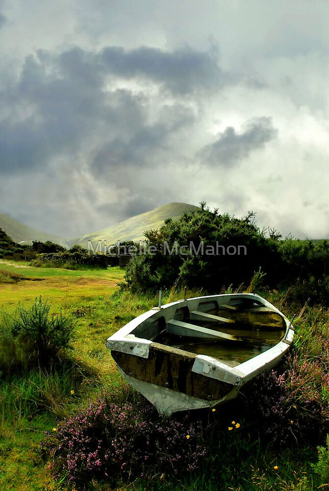old boat.. lough na fooey by Michelle McMahon