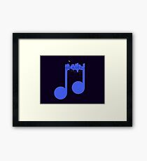 Night music Framed Print