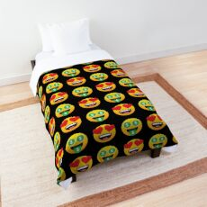Love Cash Money Emoji JoyPixels Funny Lovely Cartoon Comforter