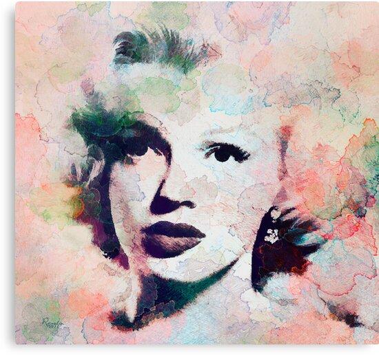 Vintage Marilyn by rosalin