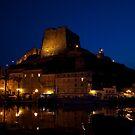 Harbour's night by Alessandra Antonini