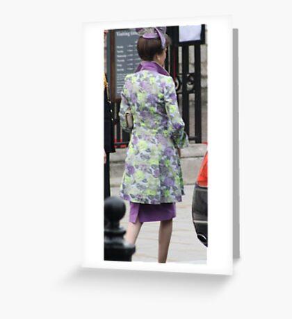PRINCESS ANNE  Greeting Card