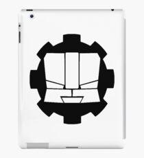Heroic Gearo Emblem - Black iPad Case/Skin