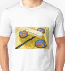 Melted Margerine and Three Blue Stiped Biscuits T-Shirt