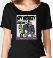 Spy Monkey Creations Inc Logo! Women's Relaxed Fit T-Shirt