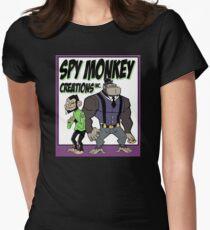 Spy Monkey Creations Inc Logo! Women's Fitted T-Shirt