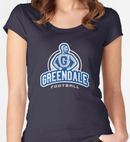 GreenDale Football Women's Fitted Scoop T-Shirt