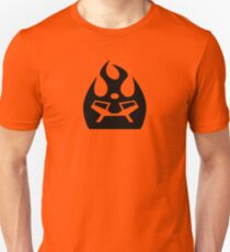 Lava Strike Force Emblem - Black Unisex T-Shirt