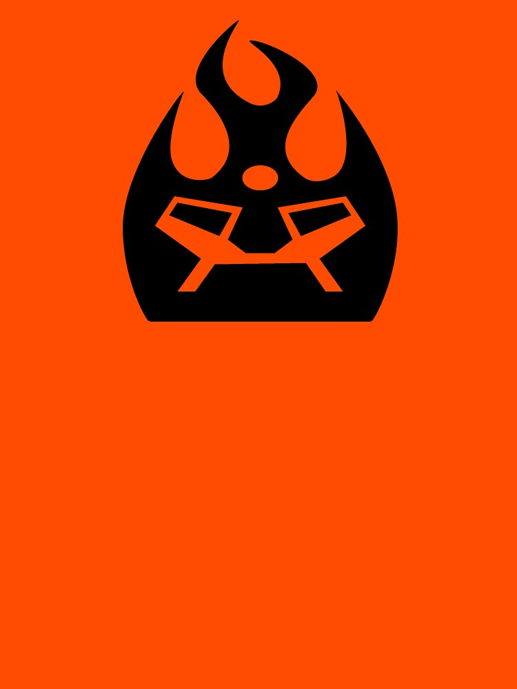 Lava Strike Force Emblem - Black by spymonkey