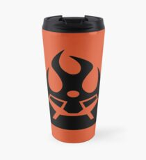 Lava Strike Force Emblem - Black Travel Mug