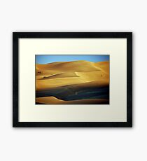 By Morning Light Framed Print