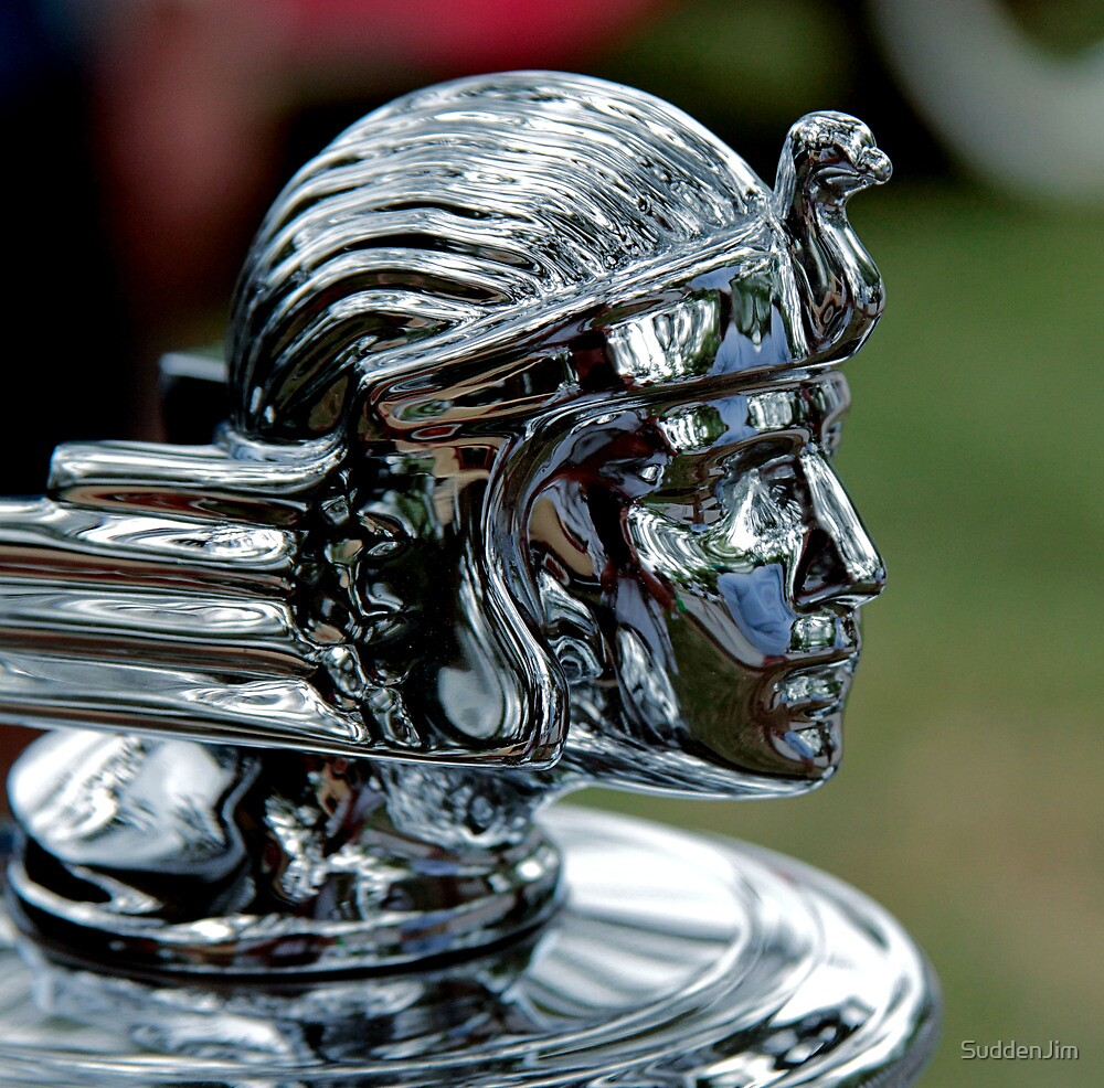 """1932 Stutz Bearcat Mascot"" by SuddenJim 