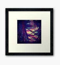 bridgeglitch Framed Print
