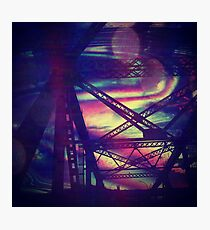 bridgeglitch Photographic Print