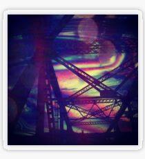 bridgeglitch Transparent Sticker