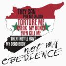 SYRIA DISOBEDIENCE  by Jaime Cornejo