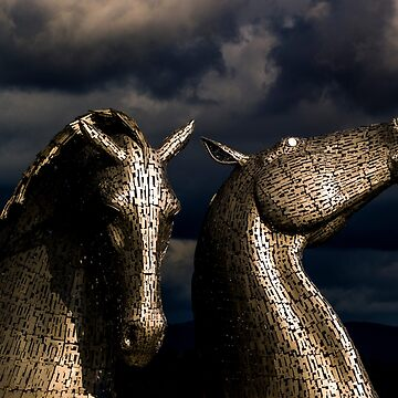 The Kelpies by captureasecond