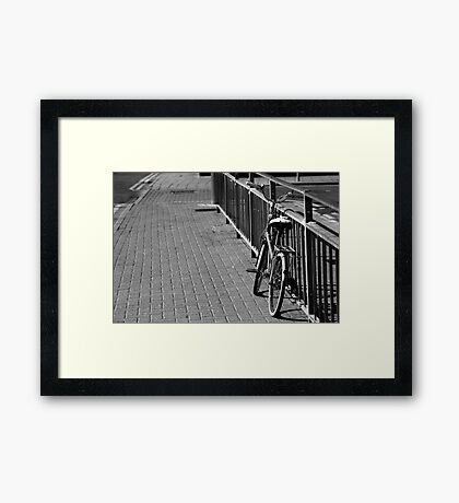 Parked Up Framed Print