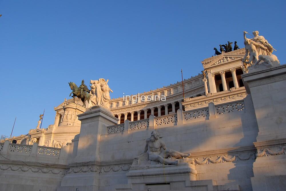 Monument to Vittorio Emanuele - Detail by inglesina
