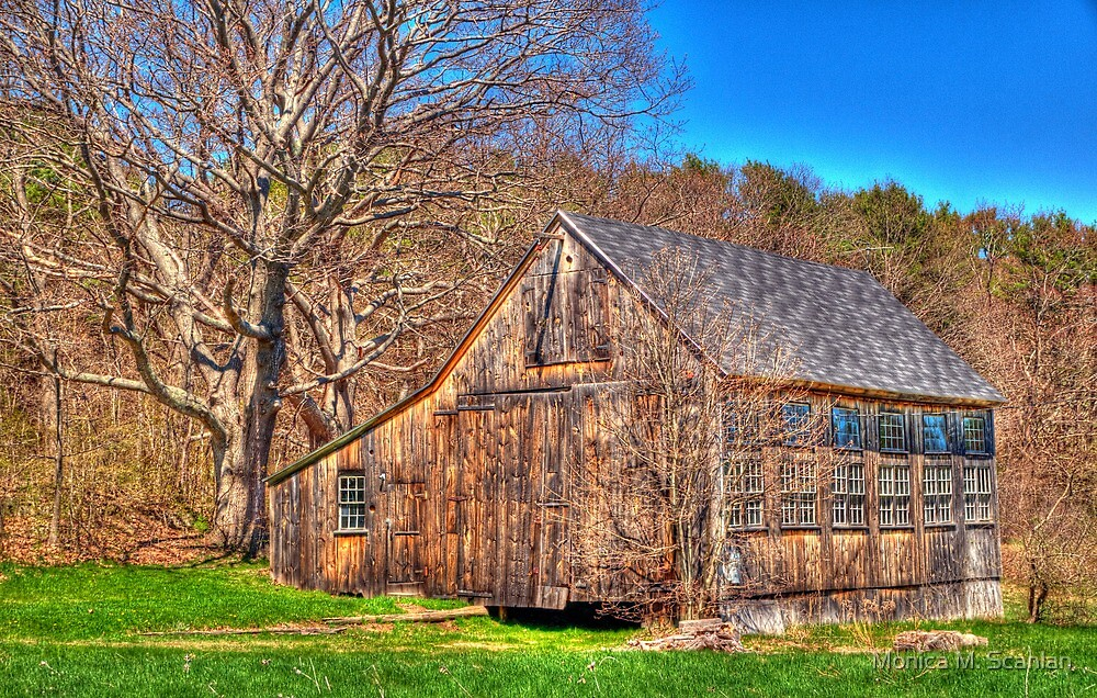 The Rustic Barn by Monica M. Scanlan