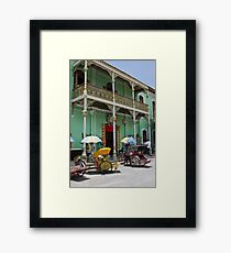 Green Mansion - Penang Framed Print