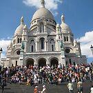 The Steps - Paris by Danielle Ducrest