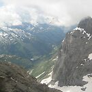 Under the Clouds - Titlis, CH by Danielle Ducrest