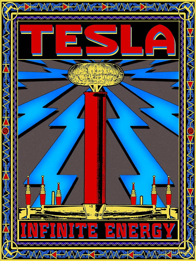 TESLA COIL - INFINITE ENERGY by GUS3141592