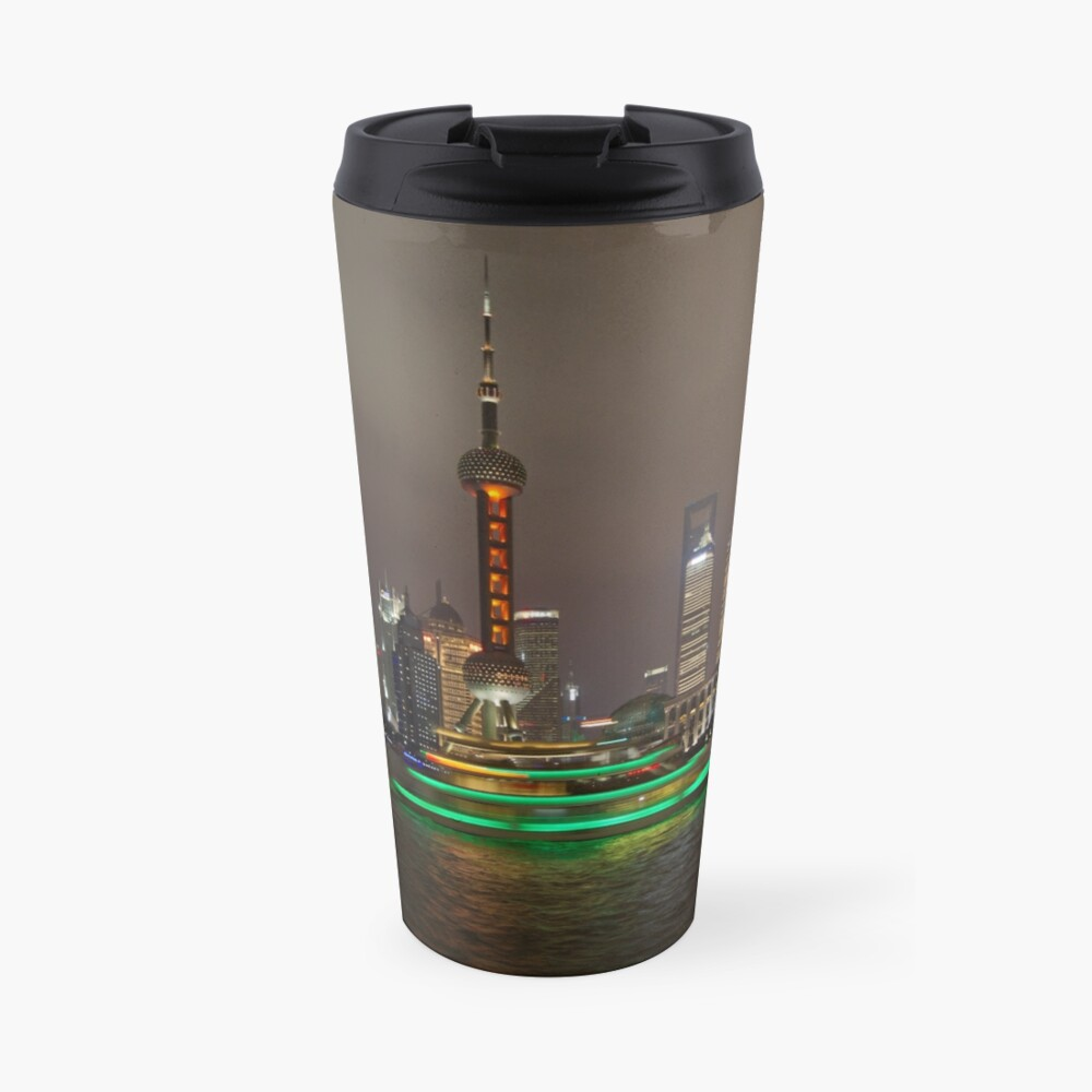 Green Boat Travel Mug
