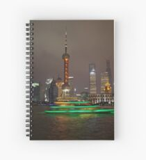 Green Boat Spiral Notebook