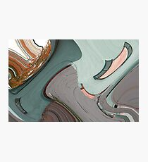 Hatchet Abstract Photographic Print