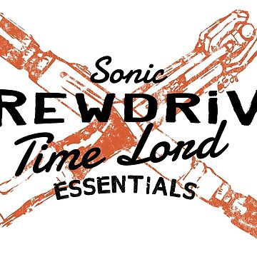 Time Lord Essentials - Sonic Screwdriver by halfcrazy