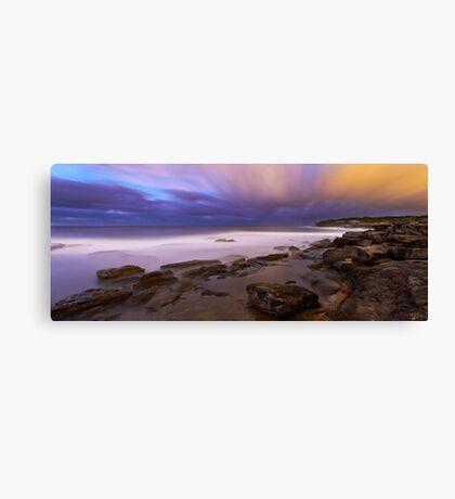 Cloud Vs Cloud Canvas Print