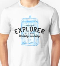 The Doctor - Time and Space Explorer T-Shirt